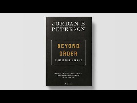 "- Jordan B. Peterson: ""12 Rules for Life – Antidote to chaos"""