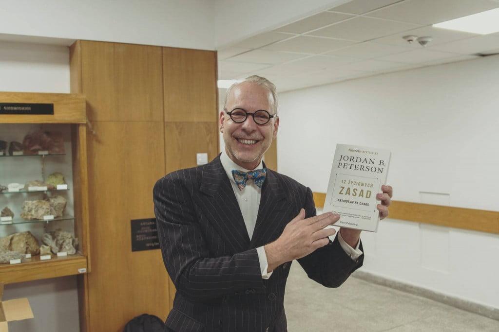 "Jef Rucker poleca 12 życiowych zasad 1 - Jordan B. Peterson: ""12 Rules for Life – Antidote to chaos"""