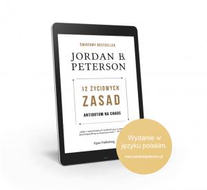 "Ebook Jordan B. Peterson: ""12 życiowych zasad: Antidotum na chaos"""