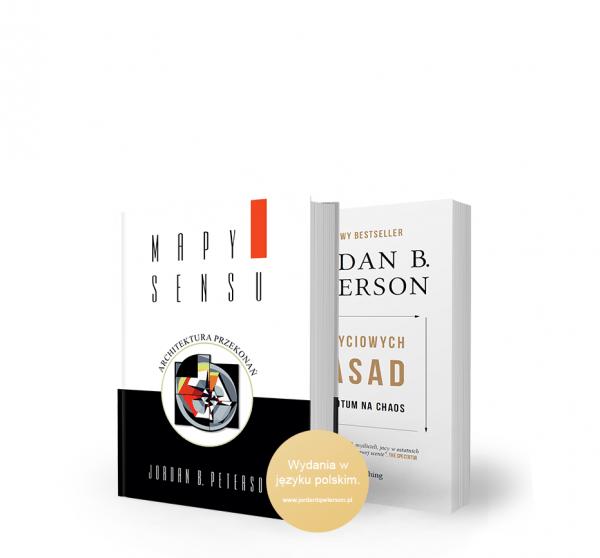 "BookBook MoM Bundle 1 - Jordan B. Peterson: ""12 Rules for Life – Antidote to chaos"""