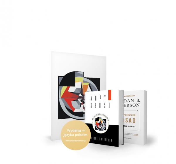 "BookBook MoM Bundle - Jordan B. Peterson: ""12 Rules for Life – Antidote to chaos"""