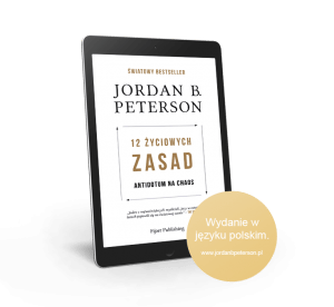 "eBook jordan b peterson 12 zyciowych zasad antidotum na chaos transparent - Jordan B. Peterson: ""12 Rules for Life – Antidote to chaos"""